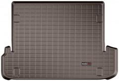 Коврик в багажник для Lexus GX 460 '09-, 2-х зонный климат-контроль, коричневый, резиновый (WeatherTech)