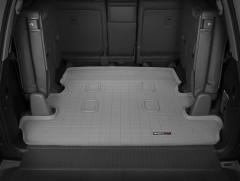 Коврик в багажник для Lexus LX 570 '08-, (7 мест, длинный) серый, резиновый (WeatherTech)