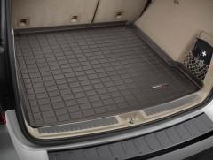 Коврик в багажник для Mercedes ML-Class/GLE W166 '11-18, коричневый, резиновый (WeatherTech)