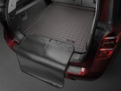 Коврик в багажник для Lexus RX '16-, коричневый, с накидкой, резиновый (WeatherTech)