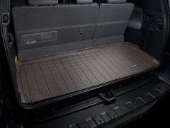 Коврик в багажник для Toyota Sequoia '08-, 5 мест, коричневый, резиновый (WeatherTech)