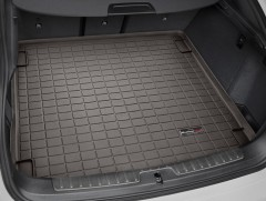 Коврик в багажник для BMW X6 F16 '15-, коричневый, резиновый (WeatherTech)