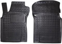 Коврики в салон передние для Nissan Maxima '00-06 резиновые, черные (AVTO-Gumm)