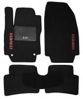 Коврики в салон для Renault Captur '13- текстильные, черные (Стандарт)