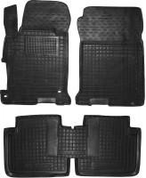 Коврики в салон для Honda Accord 9 '16-, амер. версия, резиновые, черные (AVTO-Gumm)