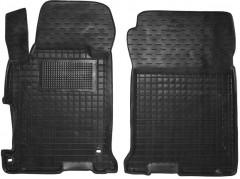 Коврики в салон передние для Honda Accord 9 '16-, амер. версия, резиновые, черные (AVTO-Gumm)