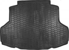 Коврик в багажник для Mitsubishi Lancer 9 (IX) '04-09, седан, резиновый (AVTO-Gumm)