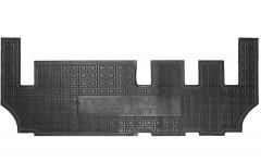 Коврики в салон для Ford Tourneo Custom '13- резиновые, черные, третий ряд (AVTO-Gumm)