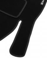 Фото товара 5 - Коврики в салон для Skoda Octavia A5 '05-13 текстильные, черные (Стандарт) 4 клипсы