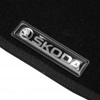Фото товара 7 - Коврики в салон для Skoda Octavia A5 '05-13 текстильные, черные (Стандарт) 4 клипсы