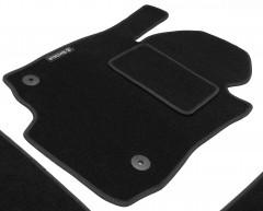 Фото товара 9 - Коврики в салон для Skoda Octavia A5 '05-13 текстильные, черные (Стандарт) 4 клипсы
