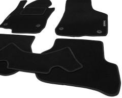 Фото товара 10 - Коврики в салон для Skoda Octavia A5 '05-13 текстильные, черные (Стандарт) 4 клипсы