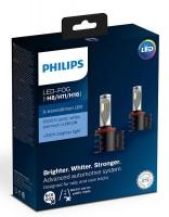 Автомобильные лампы Philips X-tremeUltinon LED, 6500 K, H8/H11/H16 (2 шт.) 12794UNIX2
