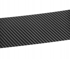 Фото 2 - Наклейка на бампер для Mazda 5 '10-, карбон, черная (NataNiko)