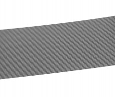 Фото 2 - Наклейка на бампер для Chevrolet Tracker '13-, карбон, серая (NataNiko)