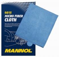 Микрофибровая очищающая салфетка Mannol  Micro Fiber Cloth, 1шт.