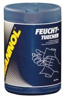 Освежающие салфетки  Mannol Feuchttuecher, 1уп.