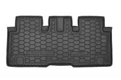Коврик в багажник для Citroen Spacetourer '16-, резиновый (AVTO-Gumm)