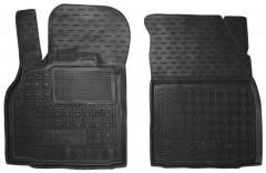 Коврики в салон передние для Renault Scenic '09-, резиновые, черные (AVTO-Gumm)