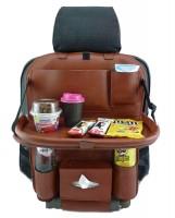 Фото 1 - Органайзер на спинку сиденья автомобиля, коричневый