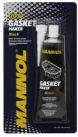 Чёрный силиконовый герметик Mannol Silicone-Gasket schwarz, 85 г.