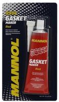 Красный высокотемпературный силиконовый герметик Mannol Silicone-Gasket rot , 85 г.