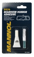 Клей для зеркал Mannol  Rearview Mirror Adhesive, 2 х 0,6 мл