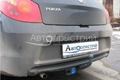 Фаркоп на болтах для ЗАЗ Forza '11- хэтчбек (Avtoprystriy)