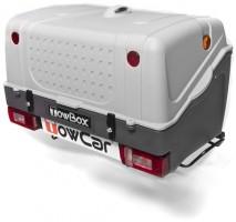 Бокс на фаркоп TowCar TowBox V1 серый
