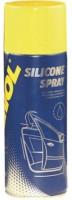 Силиконовая водоотталкивающая смазка Mannol Silicone Spray Antistatisch, 0, 2 л
