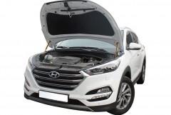 Упоры капота газовые для Hyundai Tucson '15-, 2 шт.