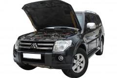 Упоры капота газовые для Mitsubishi Pajero Wagon 4 '07-, 2 шт