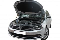 Упоры капота газовые для Volkswagen Jetta VI '10-, 2 шт.