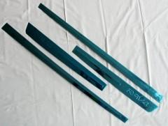 Накладки (молдинги) на дверь для Toyota RAV4 '13-18,  хром, тип D  (ASP)
