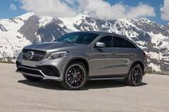 Фото 1 - Пороги (подножки) для Mercedes GLE-Coupe C292 '15-  (ASP)