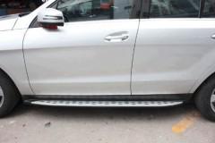 Фото 1 - Пороги (подножки) для Mercedes GLE/ML-Class W166 '11-  (ASP)