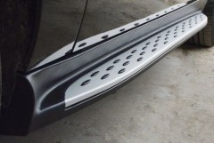 Фото 2 - Пороги (подножки) для Mercedes GLE/ML-Class W166 '11-  (ASP)
