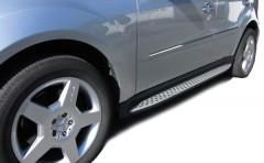 Пороги (подножки) для Mercedes ML-Сlass W164 '05-11 (ASP)