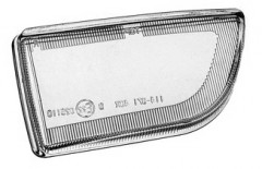 Стекло противотуманной фары для Nissan Primera '96-99 P11/W11 правое (FPS)