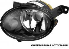 Противотуманная фара для Opel Astra J '09-12 правая, с ук. пов., хром (DEPO)