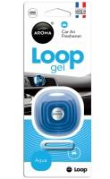 "Ароматизатор Aroma Car ""Loop Gel"" Aqua, 9 г"