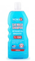 Автошампунь - концентрат Nowax Car Wash Shampoo 1:100, 1 л