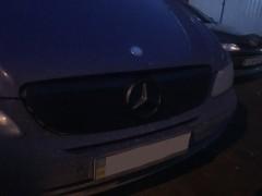 Решетка радиатора зимняя для Mercedes Vito / Viano '03-10 верхняя, матовая (Украина)