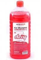 Автошампунь - концентрат Auto Drive Car Shampoo Concentrate, Cherry, 1:100, 1 л