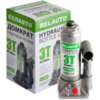 Домкрат автомобильный гидравлический бутылочный 3т. DB03 (Белавто)