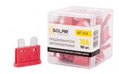 Набор предохранителей Solar Стандарт 10А, 100 шт