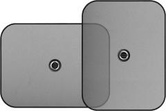 Шторки для бокового стекла 44х38см (2шт.)