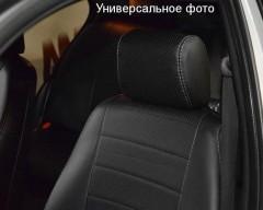 Авточехлы из экокожи S-LINE для салона Suzuki SX4 '13- (AVTO-MANIA)