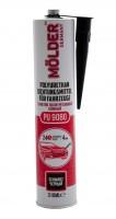 Герметик полиуретановый шовный (черный) Molder PU9080, 310 мл