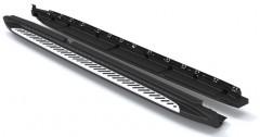 Пороги (подножки) для BMW X1 F48 '15- (ASP)